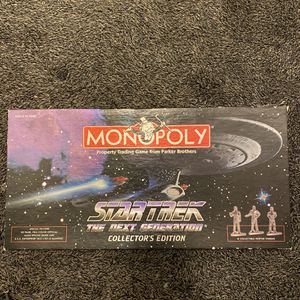 Monopoly Star Trek Board Game for Sale in Sacramento, CA