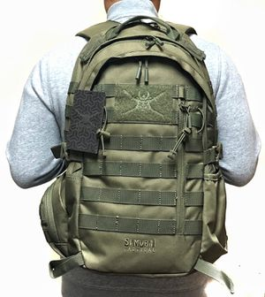 Brand NEW!Samurai Tactical Olive Green Backpack For Everyday Use/Traveling/Hiking/Biking/Fishing/Sports/Gym/Camping for Sale in Torrance, CA