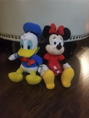 "Disney Kohl's Care Minnie Donald Duck 14"" Stuffed Toys Plush Kids Collectibles for Sale in Los Angeles, CA"