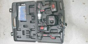 Craftsman 19.2 volt cordless drill set for Sale in College Park, GA