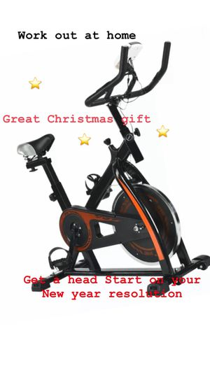 Black Bicycle Cycling Fitness Exercise Stationary Bike Cardio Home Indoor NEW for Sale in San Diego, CA