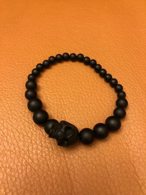 Brand New Alexander McQueen Skull & Bead Bracelet for Sale in Bothell, WA
