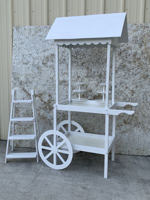 Candy. Cart !!! And display ladder. for Sale in Humble, TX