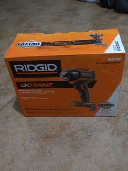 Rigid Octane Brushless 18-volt Impact Driver for Sale in Tampa,  FL