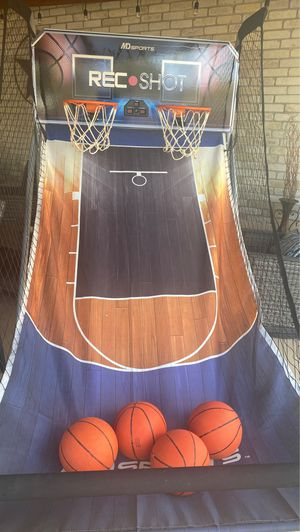 Rec shot mini hoop basketball for Sale in San Antonio, TX