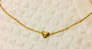 FREE GOLD HEART CHARM W/NECKLACE W/TAGS for Sale in Cranston, RI