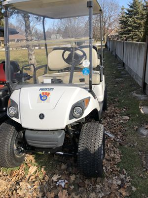 Lifted 2007 Yamaha 48V Electric Golf Cart for Sale in Mount Pleasant, WI
