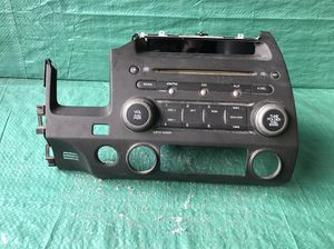 OEM 2006 - 2011 Ho da Civic Radio CD Player -- PARTS ONLY for Sale in Pembroke Pines, FL