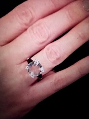 Beautiful Quartz Herkimer Ring sz 6 for Sale in Modesto, CA