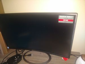 """Sceptre C248W-1920R 24"""" Curved 75Hz Gaming LED Monitor Full HD 1080P HDMI DisplayPort VGA Speakers U for Sale in Denver, CO"""