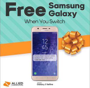 FREE Samsung Galaxy J7 Refine for Sale in Carrboro, NC