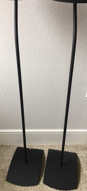 Bose UFS-20 floor stands (Sold as a pair) for Sale in Dallas, TX