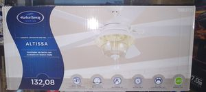 Harbor Breeze Altissa 52-in Clear LED Indoor/Outdoor Ceiling Fan with Light Kit (5-Blade) for Sale in Fontana, CA