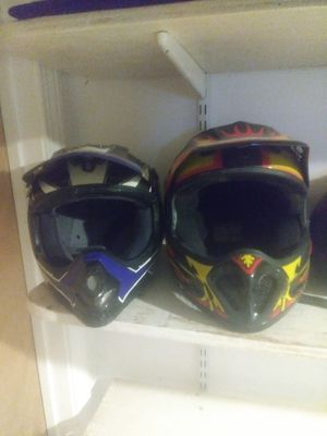 Motorcycle ATV Helmets Different Sizes for Sale in Ellington, CT