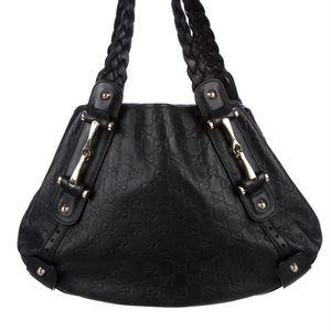 Gucci Black Guccissima Leather Pelham Medium Purse for Sale in Pompano Beach, FL