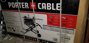 "Porter Cable 10"" table saw w/stand pcb222ts for Sale in Brea, CA"