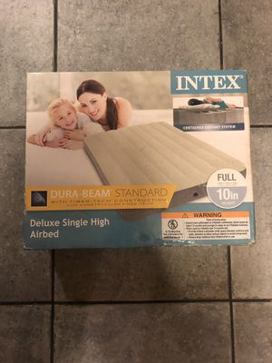 New sealed full size air mattress for Sale in Eastpointe, MI