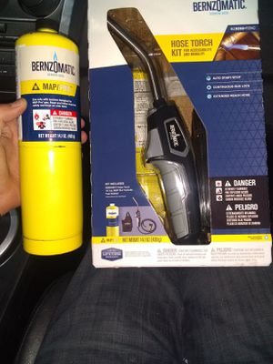 BERNZOMATIC TORCH for Sale in Federal Way, WA