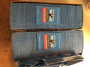 1200+ Safeway Monopoly Tickets unopened for Sale in Seattle, WA
