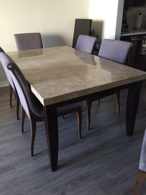Marble top dining table for Sale in Chicago, IL