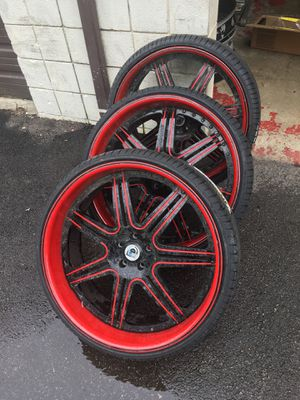"""24"""" staggered Asanti's for Sale in Canal Winchester, OH"""
