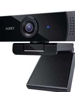 Webcam, 1080p Live Streaming Camera with Stereo Microphone, Desktop or Laptop USB Webcam for Widescreen Video Calling and Recording for Sale in Boulder City,  NV