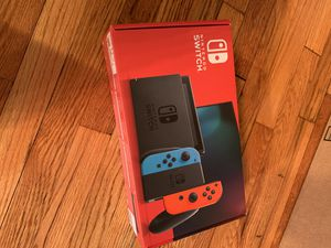 Nintendo Switch V2 (Neon Red/Blue) for Sale in Belmont, MA