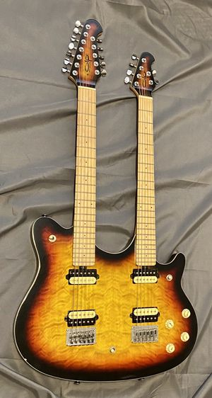 Olp Evh mm612 double neck electric guitar for Sale in University Place, WA