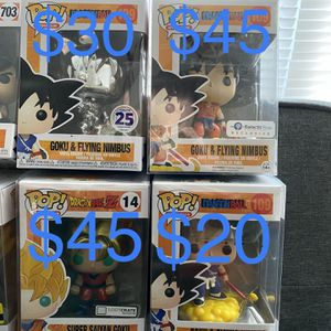 DRAGONBALL Z FUNKO POP'S GUKO for Sale in Norfolk, VA