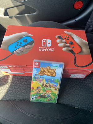 Nintendo Switch 32GB Console Neon Red/Neon Blue Joy-Con Bundle for Sale in Washington, DC
