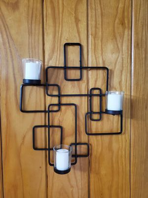 Metal Wall Hanging (Votive Candles Included) for Sale in Hermitage, TN