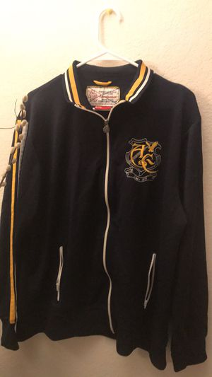 Men's American Eagle embroidered XL zip up jacket for Sale in Austin, TX