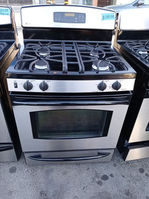 Ge profile gas stove steel for Sale in San Leandro, CA