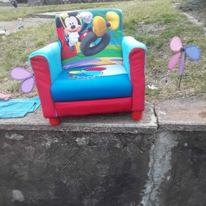 Mickey Mouse Disney Junior Upholstered Chair for Sale in East Haven, CT