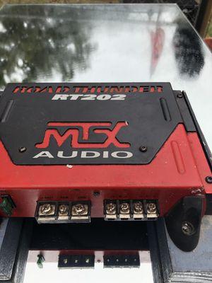 MTX RT202 RoadThunder 375Watt Amplifier for Sale in Fort Smith, AR