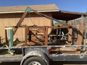 Wooden swing set for Sale in Lake Elsinore, CA