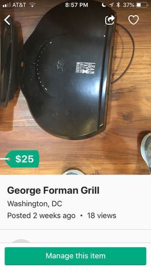 George Forman Grill for Sale in Washington, DC