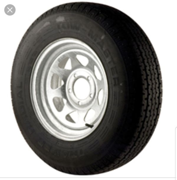 Used trailer tires and rims