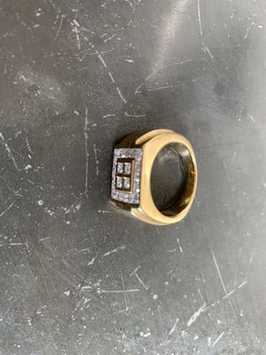 Unisex diamond ring with appraisal for Sale in Kenilworth, IL