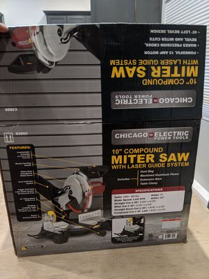 """10"""" Compound Mitre Saw for Sale in Los Angeles, CA"""