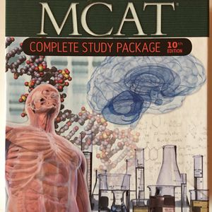 Brand New MCAT Complete Study Package for Sale in Albuquerque, NM
