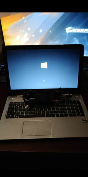 HP Envy Sleekbook Laptop AMD Elite Quad-core CPU, 6GB RAM, 750GB HDD, Beats Audio, Windows 10 Pro for Sale in Clayton, NC