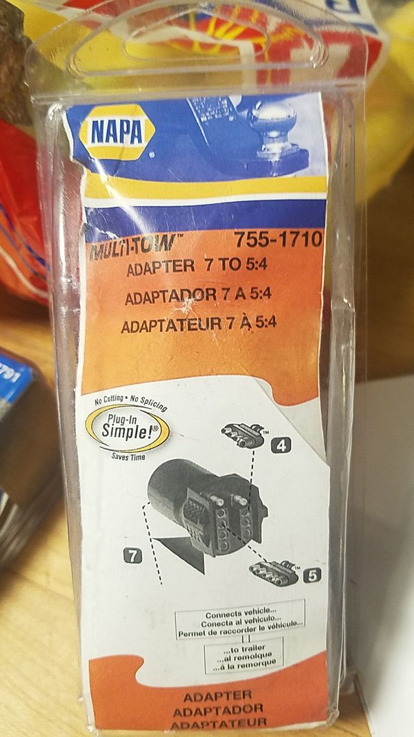 Dorman headlight socket ,napa multi tow adapter ,novita flasher relay ep36