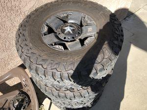 Rockstar XTC wheels 8x6.5 37x12.5R17 for Sale in Modesto, CA