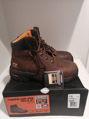 Brand new Timberland pro work boots for men. Size 7.5. Titan alloy toe. for Sale in Riverside, CA