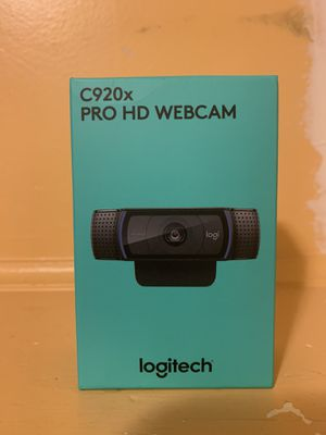 Logitech c920x Pro HD Webcam for Sale in East Bridgewater, MA