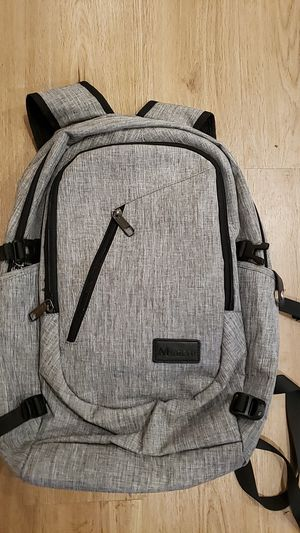 Gray Tech Laptop Backpack for Sale in Seattle, WA