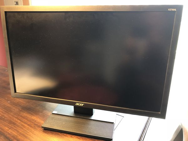 ACER LCD 27in. Monitor Model V276HL.