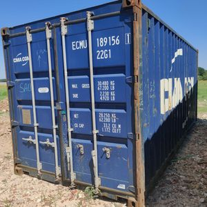 20ft Wind/Water Tight Shipping Container For Sale for Sale in Houston, TX