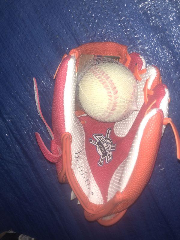Baseball and glove (new)